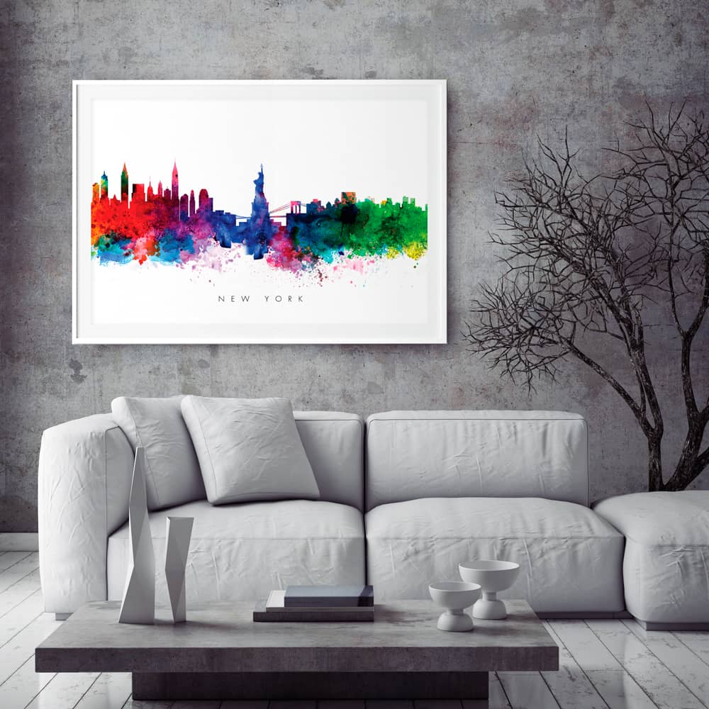 new yor city print home decor