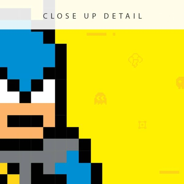 Marvel Wall Art Batman Art Personalized Print closeup